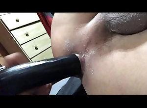 dildo,fucking,ass,horny,gay,gay-fucking,gay-sex,gay-anal,gay-porn,gay-masturbation,gay Black dildo
