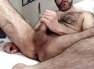 Amateur (Gay);Bear (Gay);Big Cock (Gay);Masturbation (Gay);Hairy Gay (Gay) Hairy wanker