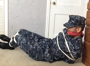 latin;bondage;tied-up;self-bondage;gagged;navy;uniform;boots;struggling;scruffy;bandana-gagged;bound-gagged;cleave-gagged;rope,Latino;Fetish;Solo Male;Gay;Hunks;Straight Guys;Amateur;Military;Verified Amateurs Sailor Ties...
