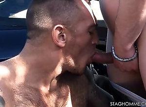 ass,big cock,blowjob,naked,car,facial,handjob,blowjob,gay Dirt Road