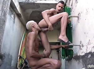 latin;big-cock;threesome;outdoor;yuri-oberon;pigboy;pigboyruben;creampie;cumdump;raunchy;piss;pigs;brazil;luan-vilella;nasty-pigs;big-load,Bareback;Latino;Big Dick;Pornstar;Gay;Creampie;Uncut;Tattooed Men,PIGBOY;Yuri Oberon 2 LOADZ FOR LUAN