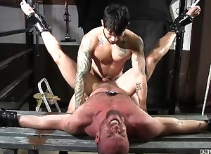 daddysbondageboys;bound;tied-up;anal;rimming;rimjob;ropes;rope;muscular;stud;bdsm;ass-fucked;ass-fucking,Muscle;Fetish;Gay;Hunks Dirty cop tied up...
