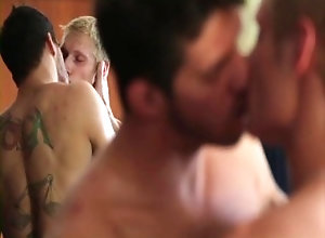 hunk;inked;blond;skinny;kissing;big;cock;blowjob;handjob;69;missionary;ass;fuck;reverse;cowboy;wanking;cumshot,Blowjob;Big Dick;Gay;Hunks;Jock;Cumshot;Tattooed Men ManHandle - Scene 6