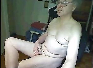 Amateur (Gay);Bear (Gay);Daddy (Gay);Handjob (Gay);Masturbation (Gay);Couple (Gay) two grandpas