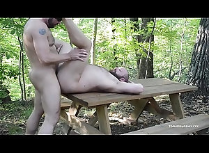 fucking,outdoor,amateur,gay,bareback,bear,rough-trade,gay Big Bears Outdoor...