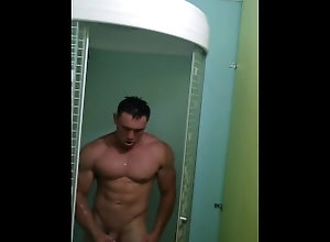 jock;stud;muscle;hunk;bodybuilder;model;amateur;straight;studs;fit;sensual;athlete;spy;jerking;shower;cumshot,Muscle;Fetish;Solo Male;Gay;Hunks;Straight Guys;Jock;Cumshot;Verified Amateurs Spycam muscle...