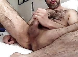 Amateur (Gay);Bear (Gay);Big Cock (Gay);Masturbation (Gay);Hairy Gay (Gay) Hairy wanker