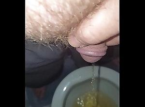 man,hairy,masturbation,pissing,piss,bush,wanking,male,goldenshower,urinate,gay_bears 20171008 204355