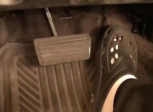 pedal-pumping;sandals;revving;socks;dirty-talk;solo-male;driving;car;voice-over;foot;gas-pedal;brake-pedal;amateur;croc-shoes;adam-castle;joi,Solo Male;Gay;Straight Guys;Amateur;Feet Sandal Pedal Pump...