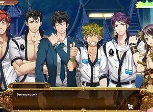 mazjojo;yaoi;games,Muscle;Blowjob;Gay;Uncut;Cumshot;Cartoon Full Service Game...