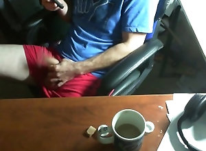 web-cam;cum,Solo Male;Gay;Straight Guys;Cumshot just casual jerk...