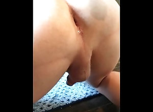 bisexual;dildo;anal;gay,Solo Male;Gay Pegging