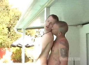 Amateur (Gay);Bareback (Gay);Bear (Gay);Hunk (Gay);Muscle (Gay);Hairy Gay (Gay);Anal (Gay) Taking in Semen