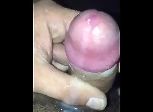 solo;monster-cock;cumshot;handjob;messy,Muscle;Solo Male;Big Dick;Gay;Amateur;Handjob;Cumshot;POV Cock oozing cum