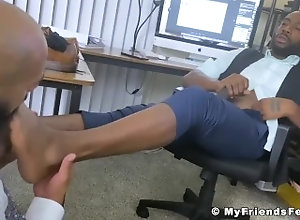 myfriendsfeet;big-cock;foot-fetish;feet;worship;fetish;toes;jock;toe-licking;big-dick;bbc;sole-licking;cumshot;black;august;bearded,Black;Fetish;Big Dick;Gay;Hunks;Cumshot Bearded August...