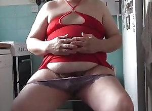 Amateur (Gay);Crossdresser (Gay);Fat (Gay);Small Cock (Gay);Striptease (Gay) Teasing in a very...