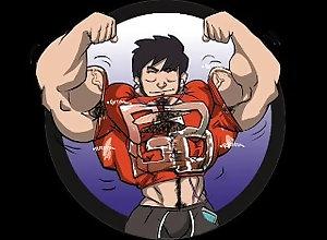growth;audio-growth;giant;gigantic-beast;grow;muscle-growth;muscle-worship,Muscle;Gay;Bear;Cartoon Serum X102 (A...